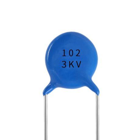 高压型陶瓷电容 102 3KV